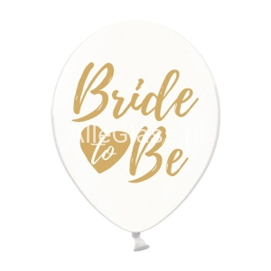 Balony 30cm Bride to be Crystal Clear